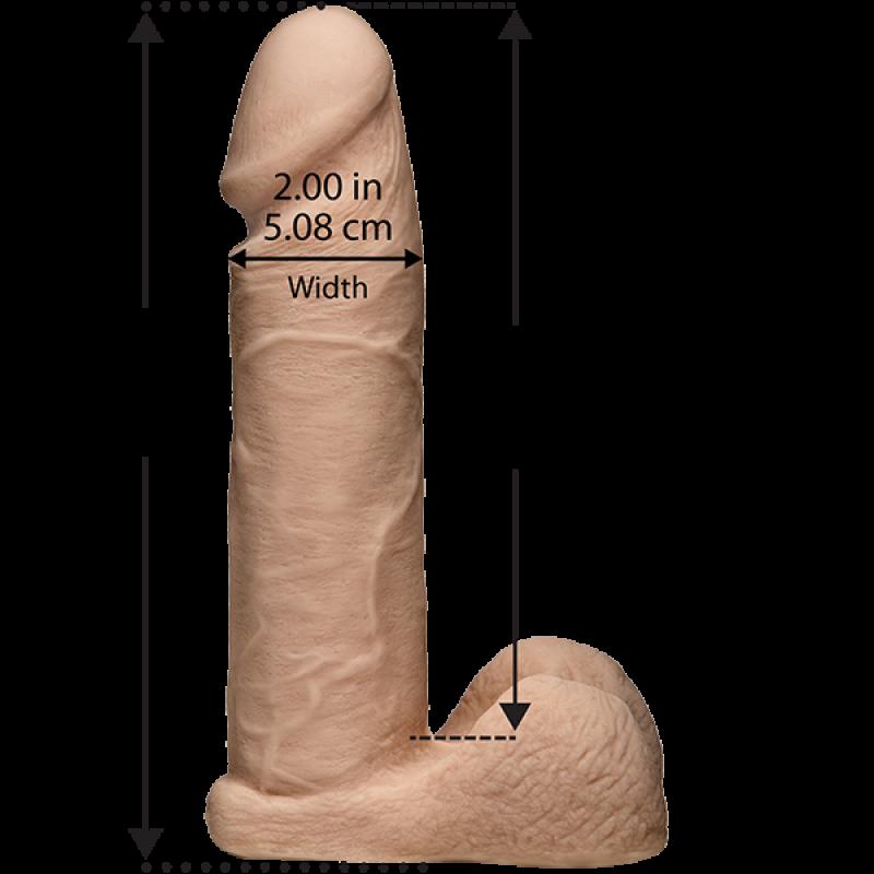 Унисекс пенис колан от кибер кожа Realistic Harness - Пениси с колан | Цена: 159.00 лв.