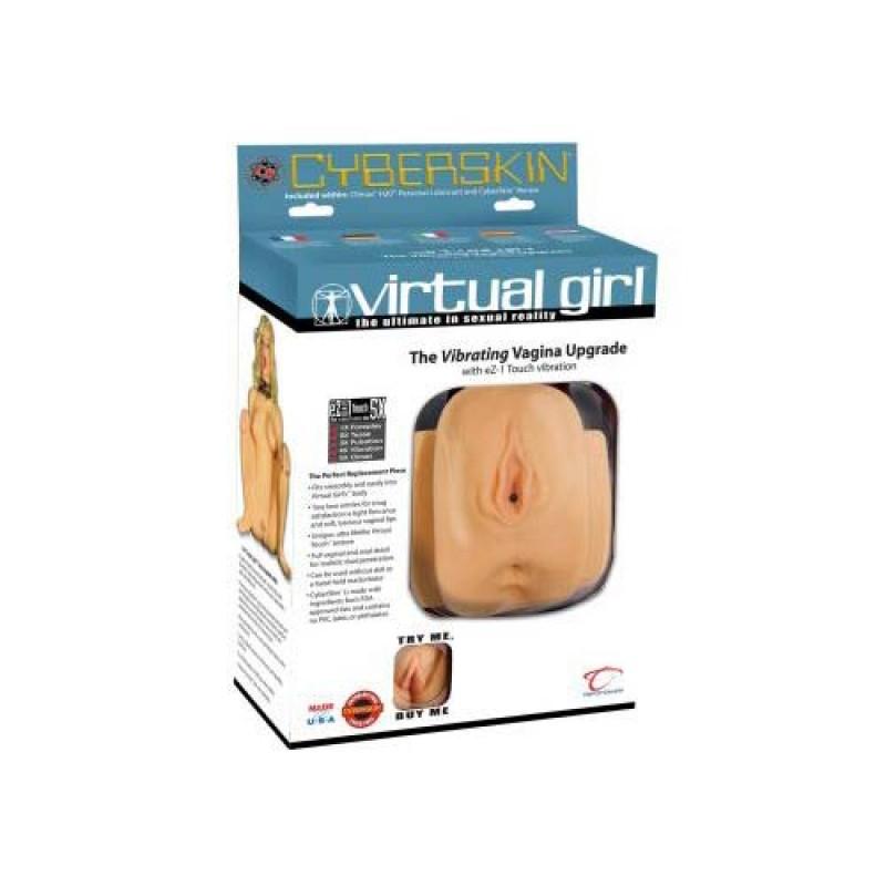 Вибро вагина и анус от кибер кожа Virtual Girl - Изкуствени вагини и мастурбатори | Цена: 139.00 лв.