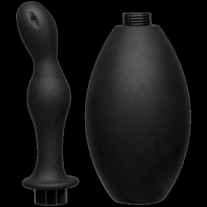 Силиконов анален душ Kink - Flow - Анални дилда (butt plug)   Цена: 119.00 лв.