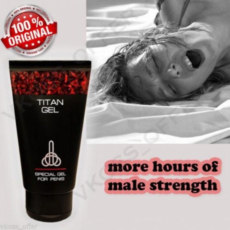 Уголемяващ гел Titan gel Gold - Секс козметика за мъже   Цена: 75.00 лв.