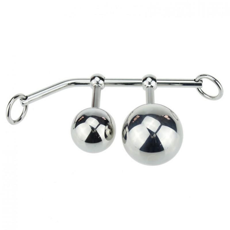 Анална кука с две топчета - Анални дилда (butt plug) | Цена: 105.00 лв.