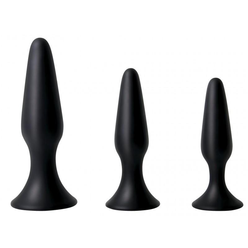 Силиконов комплект за анално обучение ADAM & EVA - Анални дилда (butt plug)   Цена: 79.00 лв.