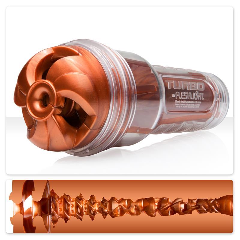 Мастурбатор Fleshlight Turbo Cooper - Изкуствени вагини и мастурбатори   Цена: 165.00 лв.