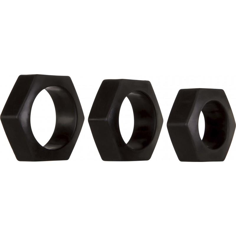 Любовни пръстени за по-силна и здрава ерекция - Пенис рингове и вибриращи пръстени | Цена: 38.50 лв.