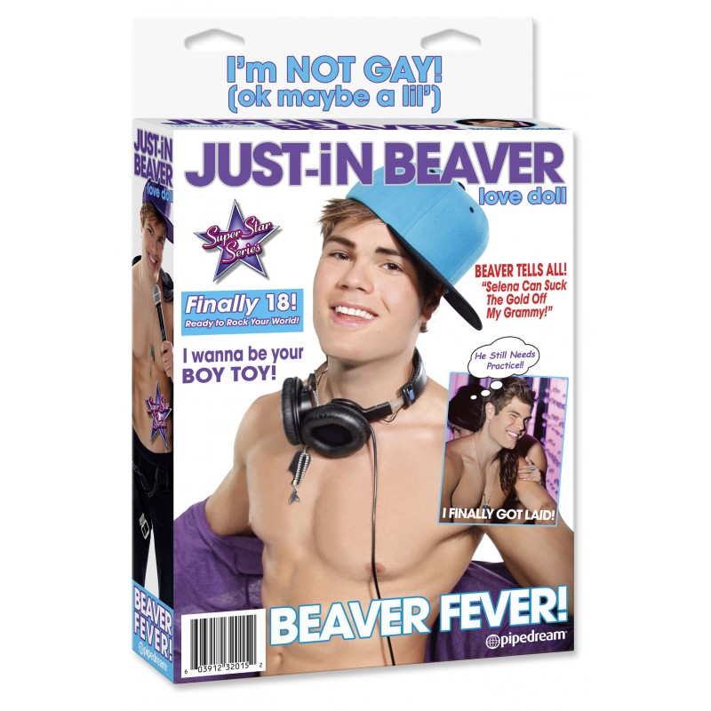 Мъжка кукла Just-in Beaver - Секс кукли | Цена: 69.00 лв.