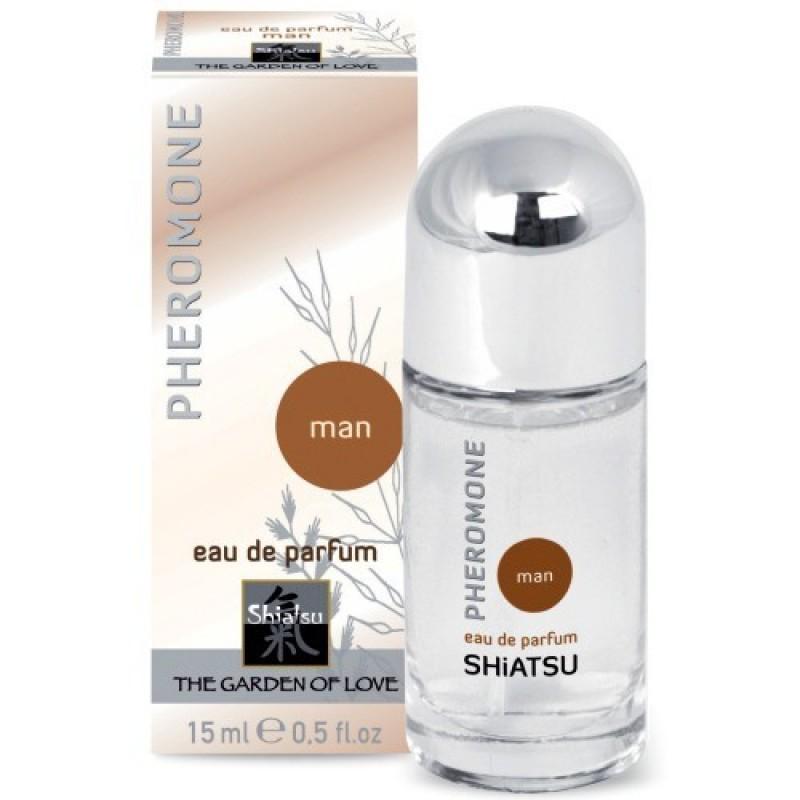 Феромонен парфюм за мъже с аромат Shiatsu - Секс козметика за мъже   Цена: 32.00 лв.