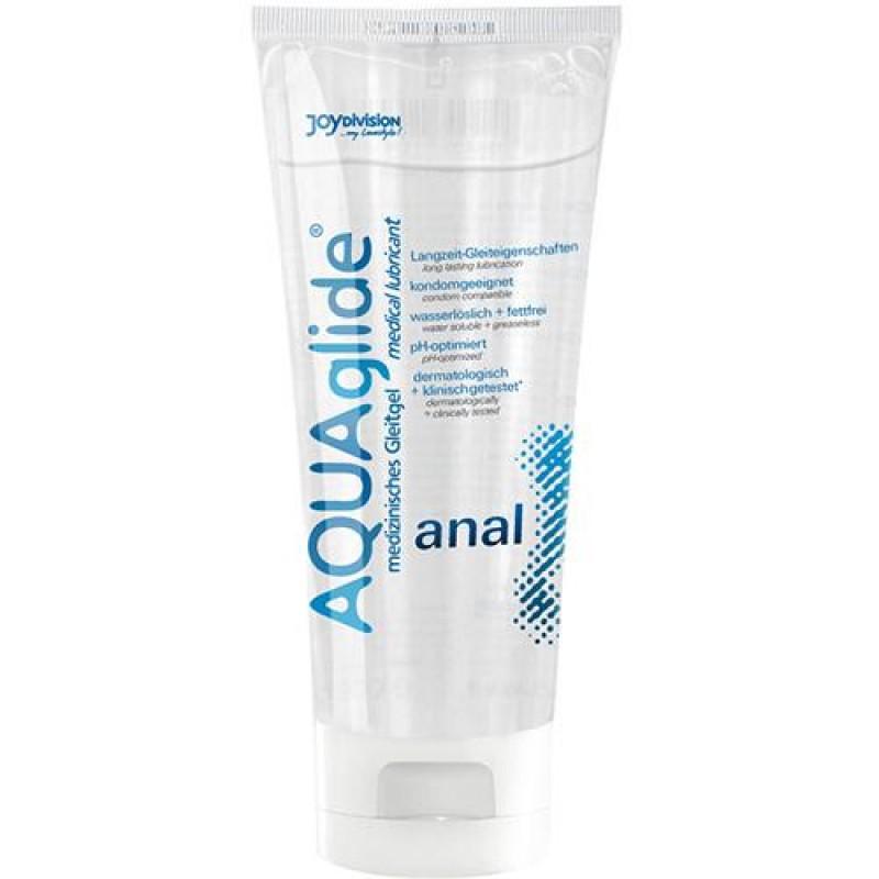Анален лубрикант AQUA GLIDE 100 ml. - Секс козметика за мъже | Цена: 29.00 лв.