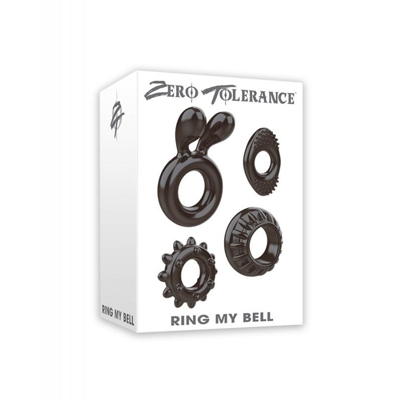 Силиконови пръстени за пенис RING MY BELL - Пенис рингове и вибриращи пръстени   Цена: 24.00 лв.