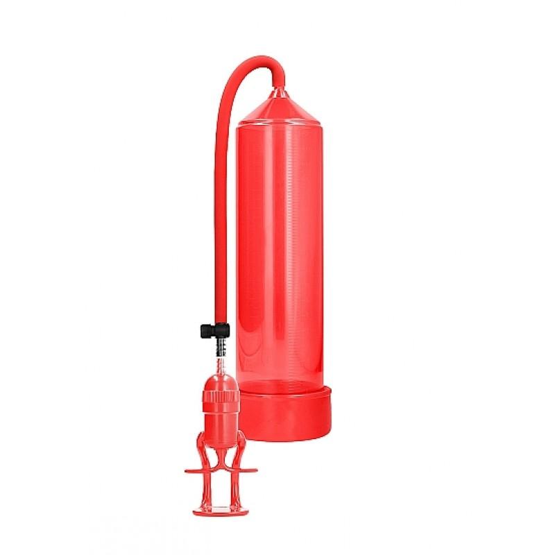 Луксозна пенис помпа в червен цвят - Помпи за пенис | Цена: 89.00 лв.