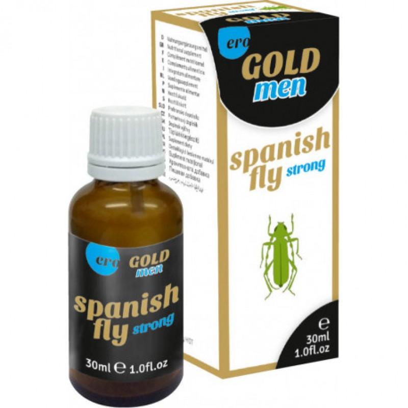 Възбуждащи капки испанска муха за мъже ERO GOLD - Възбуждащи спрейове и гелове   Цена: 29.00 лв.