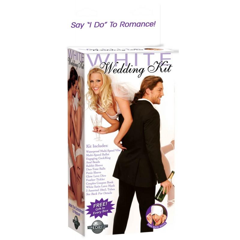 Сватбен комплект White Wedding Kit - Комплекти с вибратори | Цена: 135.00 лв.